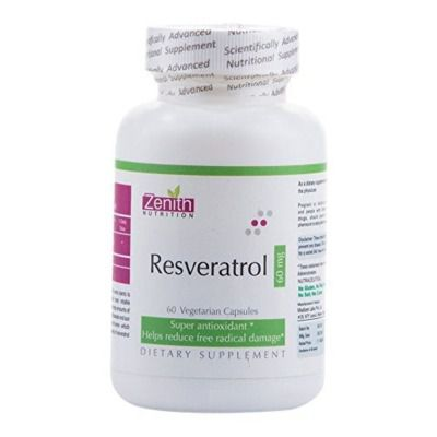 Buy Zenith Nutrition Resveratrol 60mg
