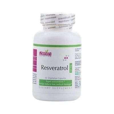 Buy Zenith Nutrition Resveratrol Capsules