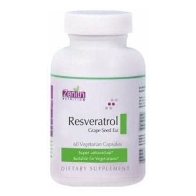Buy Zenith Nutrition Resveratrol Grape Seed Ext Capsules