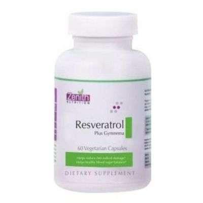 Buy Zenith Nutrition Resveratrol Plus Gymnema Capsules