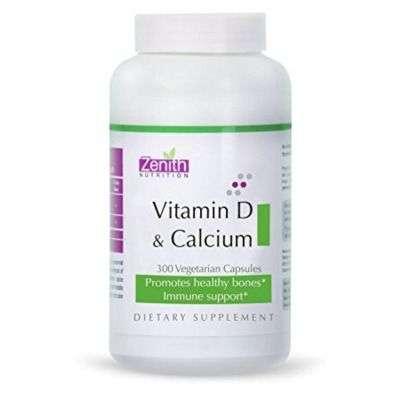 Buy Zenith Nutrition Vitamin D3 Capsules