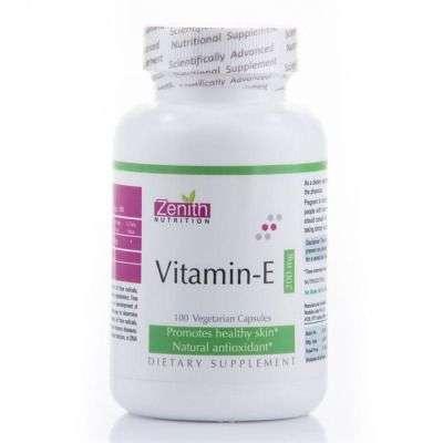 Buy Zenith Nutrition Vitamin E Capsule