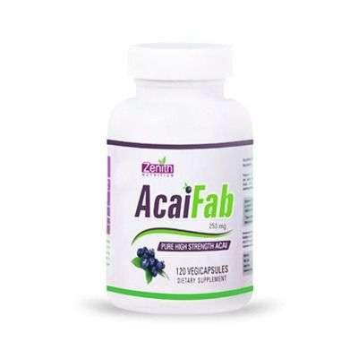 Zenith Nutritions AcaiFab - 250mg