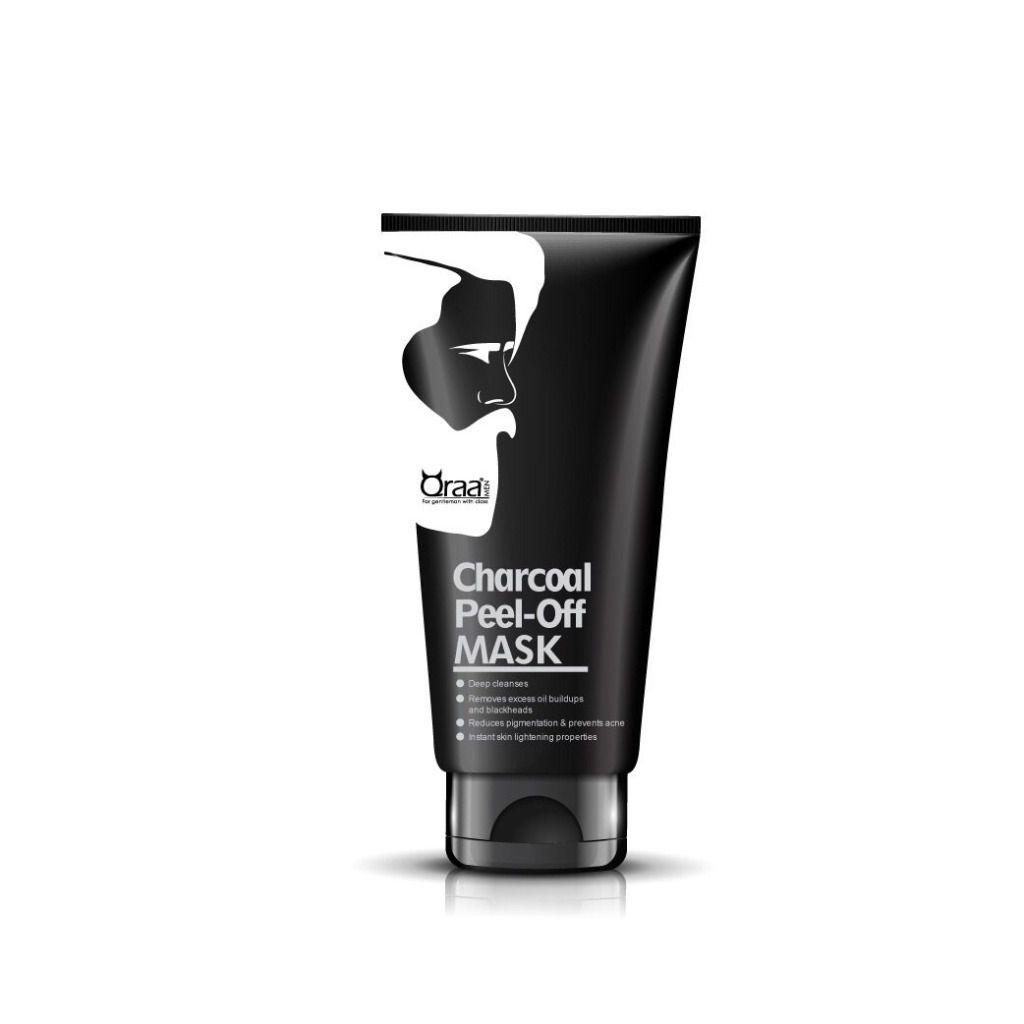 Qraa Men Charcoal Peel Off Mask for Men