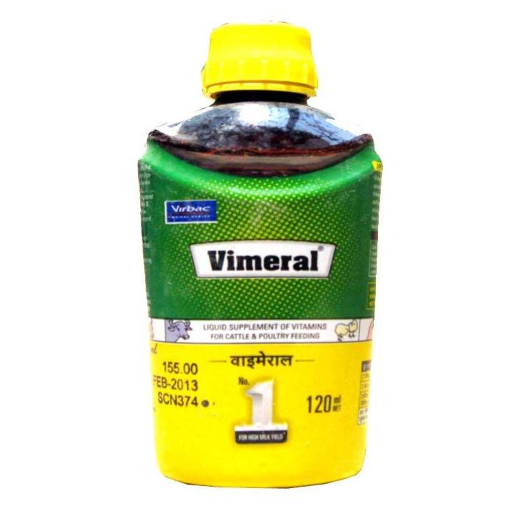 Virbac Vimeral Pets Liquid Supplement Of Vitamins